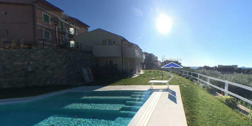 Realizzazione di B&B di otto camere con piscina - Pietra Ligure
